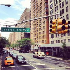 "@anthonyheard93's photo: ""Central Park West. #imissnewyork #newyork #ny #nyc #iloveny #empirestate #bigapple #manhattan #america #us #usa #amazing #summer #centralpark #street #cars #hot #sky #park #great #sightseeing #tourist #holiday #vacation #amazing #2012 #iphone #photography #instagram #photooftheday"""