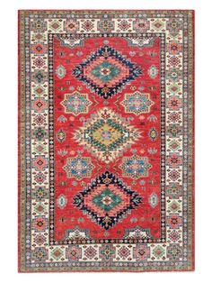 Fine Kazak Hand-Knotted Rug from Bashian One-of-a-Kind Rugs: Free Shipping on Gilt