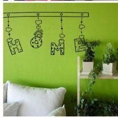 Zuhause dekorative Wand-Aufkleber