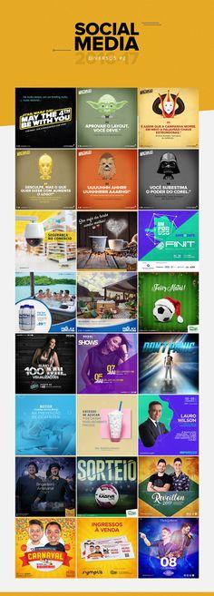 Social Media 2016 - 2017 #2 on Behance