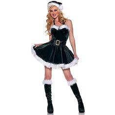 Costume womans sexy santa