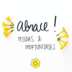 Abraço, pessoas e oportunidades