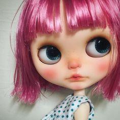 order @kakigori.yuko さん #blythe #CustomBlythe #blythedoll #dollphotography…
