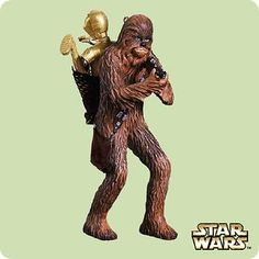 Chewbacca gets his first appearance in the official series in this ornament recreating the end of Empire.