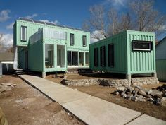Shipping Container Homes: Ecosa Design Studio - Flagstaff, Arizona - Six Shipping Container Home,