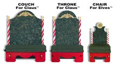 Portable Santa Claus Throne and Couch and Chair for Elves for Sale Elf Christmas Decorations, Christmas Backdrops, Christmas Goodies, Christmas Elf, Winter Christmas, Christmas Stuff, Christmas 2019, Christmas Ideas, Christmas Crafts