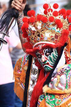 Guan-Jiang-Shou, #Taiwan Asian Style, Chinese Style, Taiwan Culture, Dragon Dance, Chinese Opera, Taoism, Chinese Culture, Beautiful Architecture, Traditional Art