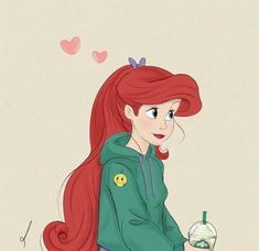 5862 likes, 10 comments - 🔱Art 🔱 Princesa Ariel Disney, Disney Princess Ariel, Princess Art, Disney Princesses, Cute Disney Pictures, Disney Princess Pictures, Disney Princess Drawings, Modern Disney Characters, Disney Icons