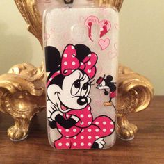Samsung Galaxy S7 & S7 Edge Phone Case with Disney Minnie & Mickey Mouse Theme! #galaxys7 #phonecase #disney #minniemouse #mickeymouse http://stores.ebay.co.uk/happiesttomato/