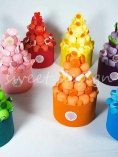Tarta Pantone Azul Pantone, Cups, Sweet, Design, Gifts, Sweet Tables, Cooking, Unicorn, Decorations