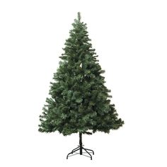 Astella 7-foot Artificial Douglas Fir Hinged Christmas Tree with Stand