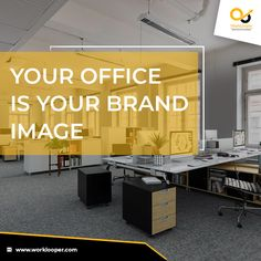 Your Office Is Your Brand Image and We Cover Every Office Branding Services. #OfficeBranding #Brand #BrandingService #OfficeBranding #OfficeBrandingService Office Branding, Logo Branding, Branding Services, Unique Image, The Office, Workplace, Creative Design, How To Memorize Things, Cover
