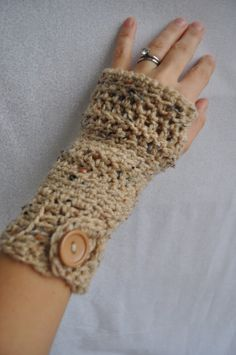 Crochet Fingerless Glove Wrist Warmers