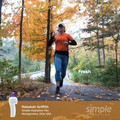 Simple Hydration One Word Series. Hydration Bottle, Ohio Usa, Racing Team, Water Bottle, Running, Simple, Keep Running, Water Bottles, Why I Run