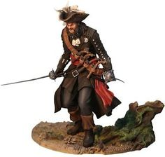 ASSASSINS-CREED-4-Blackbeard-9-Vinyl-Statue-Ubisoft