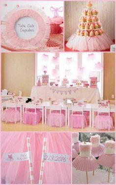 Tutu Cute Ballerina Birthday Party Ideas from HotRef.com #tutubirthday