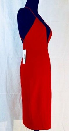 65f6895c8ad Jay Godfrey Davies Dress RedNWTSize 4Retail  299  fashion  clothing  shoes   accessories