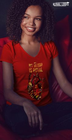 The Most Powerful and Beautiful Afrocentric T-Shirts You'll Love Free T Shirt Design, Creative T Shirt Design, Tee Design, Shirt Designs, Design Art, Afrocentric Clothing, Cool Graphic Tees, Black Artwork, Black Artists