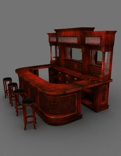 western saloon bar - Google Search