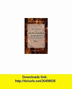 Geschichte der altchristlichen Litteratur bis Eusebius. Theil 1. Die �berlieferung und der Bestand der altchristlichen Literatur bis Eusebius, H�lfte 1. Bearbeitet unter Mitwirkung von Erwin Preuschen (1867 - 1920) Adolf von Harnack ,   ,  , ASIN: B004ILJABW , tutorials , pdf , ebook , torrent , downloads , rapidshare , filesonic , hotfile , megaupload , fileserve