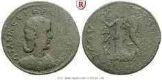 RITTER Kilikien, Tarsos, Otacilia Severa, Frau des Philippus I., Nike #coins