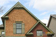Trim Colors For Dated Orange Brick Houzz Home