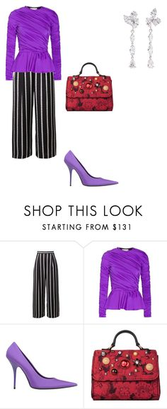 """Untitled #5"" by corina-stanculet ❤ liked on Polyvore featuring Balenciaga, Dolce&Gabbana and Anyallerie"