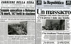 Bologna, 35 anni fa la strage. Le prime pagine dei giornali di allora. FOTO - Tg24 - Sky.it