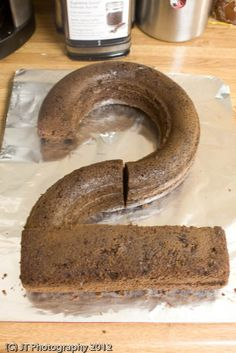 "Guest Post: Making a ""2″ Shaped Birthday Cake by Pure Joy"