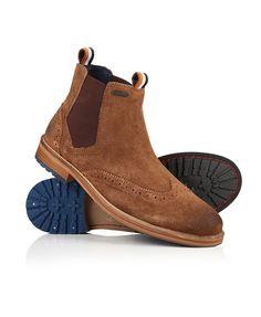 71eb1c346855c Chelsea boots en cuir lisse - bottines homme - SUPERDRY - Mode. Bottines  Homme Marron · Chaussure ...