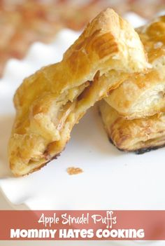 Apple Strudel Puffs