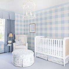 Baby Blue Nursery, White Nursery, Baby Boy Rooms, Nursery Neutral, Baby Boy Nurseries, Nursery Room, Girl Nursery, Blue Nursery Ideas, Baby Nursery Ideas For Boy