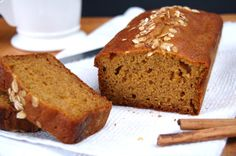 The Iron You - A healthy living blog with tasty recipes: High Protein Pumpkin Bread