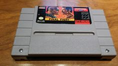 Final Fight Super Nintendo snes video game console system capcom - pinned by pin4etsy.com