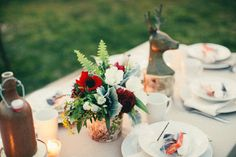 Casual tabletop decor | Styling & Design by Jesi Haack | Style Me Pretty Living