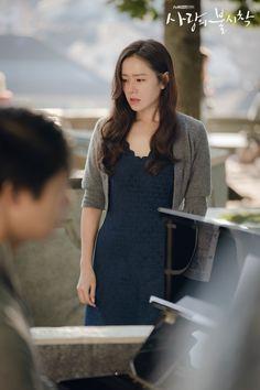 Crash Landing on You (사랑의 불시착) - Drama - Picture Gallery Korean Star, Korean Girl, Korean Actresses, Actors & Actresses, Nice Dresses, Girls Dresses, Trendy Girl, Pretty Eyes, Korean Model