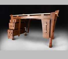 Hand Crafted Writing desk by Matt Downer Designs | CustomMade.com