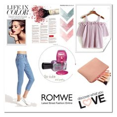 """""""Romwe #4"""" by zerina913 ❤ liked on Polyvore featuring romwe"""