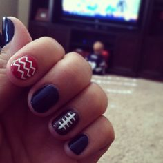 New England Patriots•Nails•Football Nails
