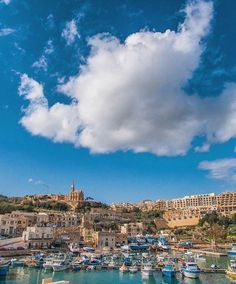 #Afternoon at Mgarr Harbour in #Gozo. Who's planning to go here any time soon? :)  Featured Photographer: @micagius  Tag your #photos with #MaltaPhotography to get a chance to be #featured on @maltaphotography - http://ift.tt/1fpoK0v  #Mgarr #harbour #Tuesday #boat #sky #church #fun #picturesque #colours #island #jj #Malta #Photography #instagramhub #instafamous #photooftheday #picoftheday #l4l #beautiful #view #lonelyplanet #travel #destination #worlderlust