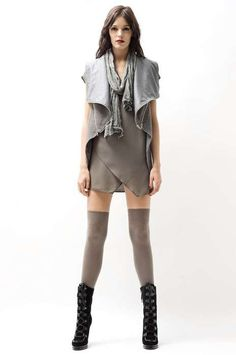 Layered Grayscale Fashion