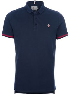 MONCLER GRENOBLE  logo polo shirt