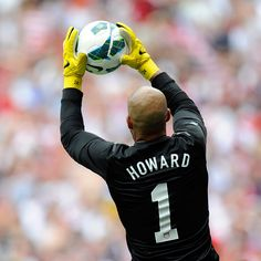 Check out the new yellow color of #Nike #Goalkeeper Gloves, as worn by Tim Howard! #soccer #usmnt