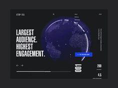 "via Muzli design inspiration. ""UI Interactions of the week is published by Muzli in Muzli - Design Inspiration. Website Design Inspiration, Landing Page Inspiration, Website Design Layout, Web Layout, Daily Inspiration, Interaktives Design, Web Ui Design, Dashboard Design, Flat Design"