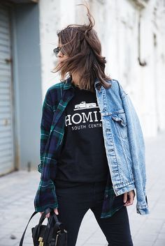 homies_tee-checked_shirt_vintage_levis-outfit-street_style-28 by collagevintageblog, via Flickr