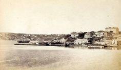 Millers Point, from Balmain, c 1869  John Degotardi (Johann Nepomuk) State Library NSW