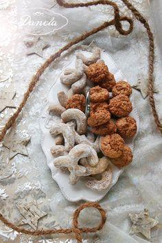 vianocne kokosky a vanilkove rozky