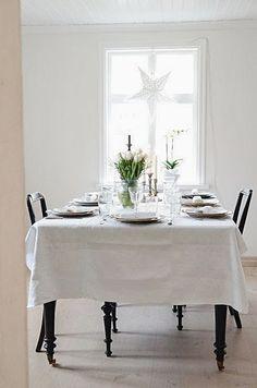 Anna Truelsen interior stylist: So beautiful, crisp white, no fuss