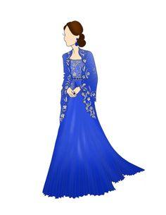 Duchess of Cambridge Royal Tour INDIA 8.5x11 by RepliKateIt