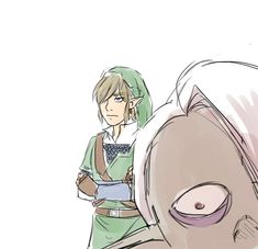 Ghirahim's all like: SKYCHILDSKYCHILDSKYCHILDSKYCHILDSKYCHILDSKYCHILD And Link's all like: I'm so fucking done.